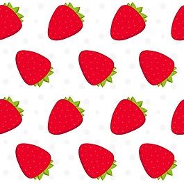 草莓圖案設計
