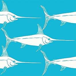 旗魚圖案設計