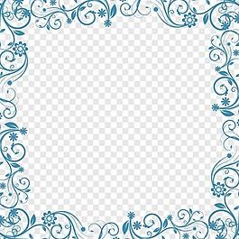 藍色花的背景