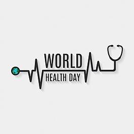 健康日背景設計