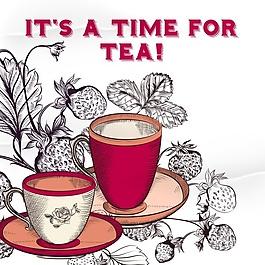 茶的背景設計