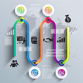 金融圖表設計圖片