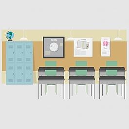 課堂背景設計