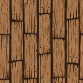卡通风格的木板