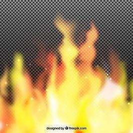 火的現實背景