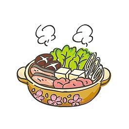 手繪蔬菜食物元素