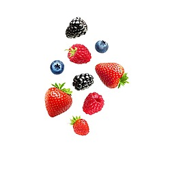 矢量水果草莓元素