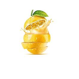 矢量水果橙子元素