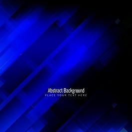 深蓝色几何形状的抽象背景