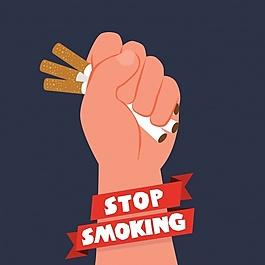 反烟草日背景