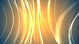 黄色光线视频背景