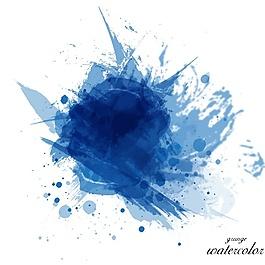 水彩畫的背景設計