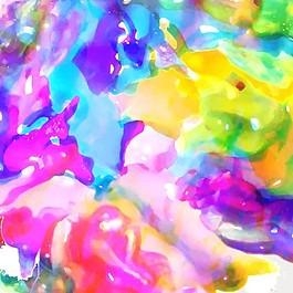 紋理背景,彩色水彩