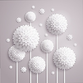 花的背景設計