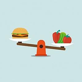 食品背景設計