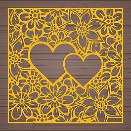 花的背景设计
