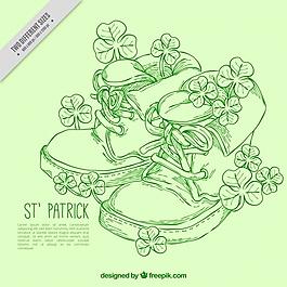 鞋和三葉草的背景介紹