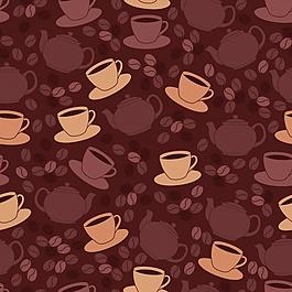 咖啡圖案設計