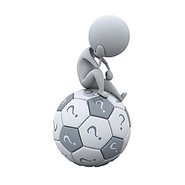 3D足球小人元素
