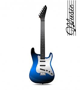 彩色吉他设计