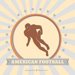 美國足球運動員的背景