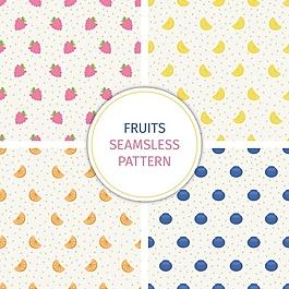 水果圖案的收集