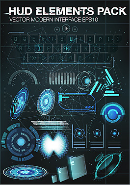 科幻手机游戏界面UI