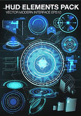 科幻题材游戏界面UI