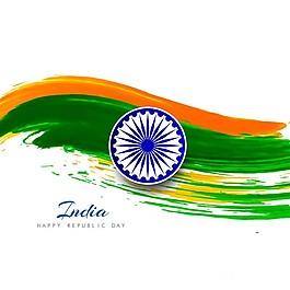 印度共和国,波浪水彩