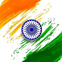 印度共和国水彩日