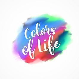 水彩的生命色彩