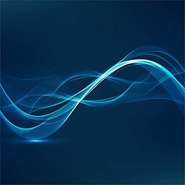 蓝色能量背景