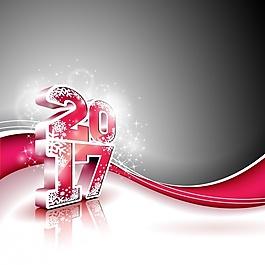 新年背景設計