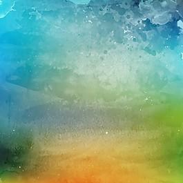 水彩水彩艺术背景