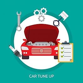 汽车背景设计