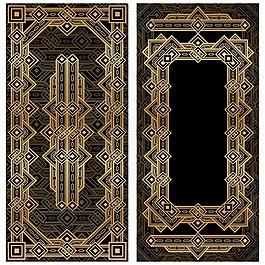 复古装饰艺术框架