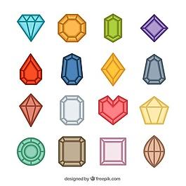 彩色寶石的平面選擇