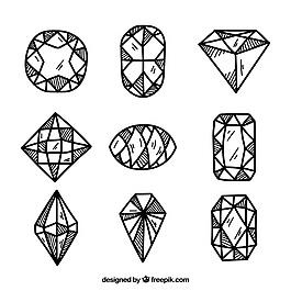 手绘宝石品种