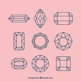 直線寶石系列