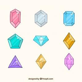 平面設計中的寶石品種