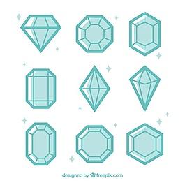 平面設計中的鉆石品種