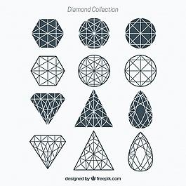 幾何鉆石系列