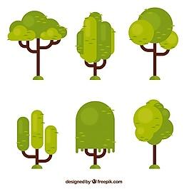 平面設計中的幾何樹集