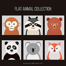 平的動物系列