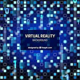 虚拟现实背景