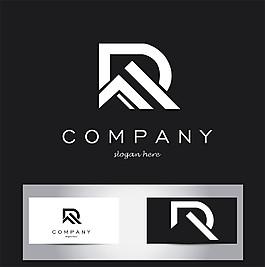 創意字母R標志圖片