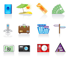 旅行图标设计图片