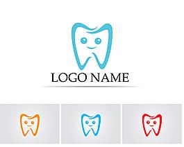 圓環牙齒標志圖片