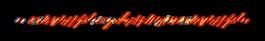 红色线条组成的动态边框视频素材
