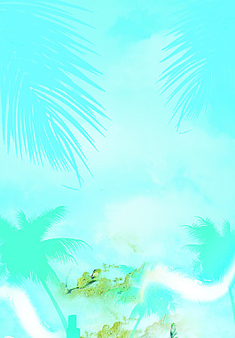 蓝色清凉一夏PSD